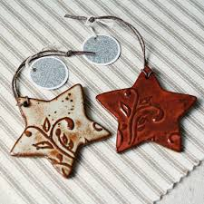 handmade ceramic ornaments pottery ideas