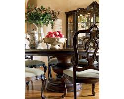 Tuscan Dining Room Furniture elba round dining table thomasville furniture