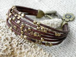 multi leather bracelet images Multi strand leather bracelet 10 images sarah brachelet jpg