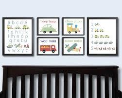 Transportation Nursery Decor Transportation Nursery Prints Vehicle Decor By Justbunch