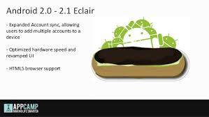 android eclair android mobilių programėlių kūrimo įvadas