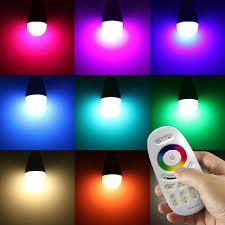 milight e27 rgbw w ww led 2 4g rf wireless dimmable bulb light