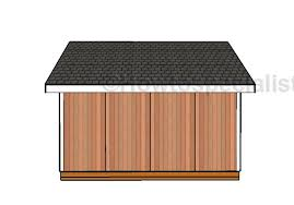 Building Plans Garage Getting The Right 12 215 16 Shed Plans by 16x16 Shed Door Plans Howtospecialist How To Build Step By