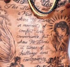 wiz khalifa s 9 tattoos their meanings guru