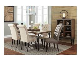 ashley dining room furniture set signature design by ashley tripton 7 piece rectangular dining room