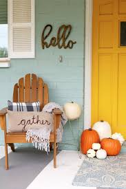 Adorable Room Appearance 25 Best Fall Front Door Decor Ideas And Designs For 2017