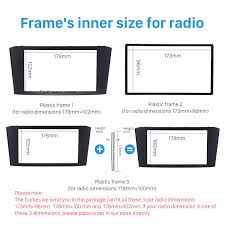 toyota product line double din 2003 2008 toyota avensis car radio fascia dvd stereo