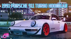 1991 porsche 911 turbo rwb gta 5 mods 1991 porsche 911 turbo hoonigan u0026 rauh welt youtube