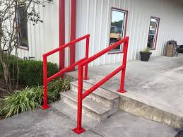 Handrailing Top Metal Hand Railing U2014 Railing Stairs And Kitchen Design Metal