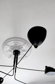 Serge Mouille Three Arm Ceiling Lamp Knock Off by My New Serge Mouille Mcl R6 Inspired Bedroom Light Fixture Swoon