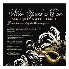 new years eve invitations u0026 announcements zazzle