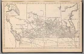 Map Of Saskatchewan British Columbia Alberta Saskatchewan Manitoba David Rumsey