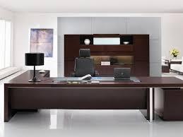 Dark Wood Office Desk Office Desk Large Executive L Shaped Desk Wood Construction Dark