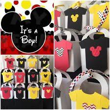 mickey mouse baby shower mickey mouse baby shower party supplies ebay