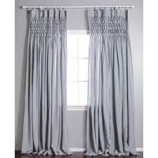 Pinch Pleated Sheer Draperies Pinch Pleated Drapes U0026 Curtains Wayfair