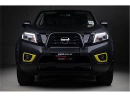 black nissan nissan navara tungsten carbide x np300 matte black wrap 2017