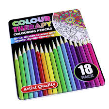 colour artist 24 pictures colour landscapes colouring book