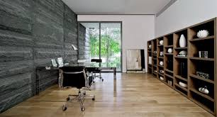 Home Office Interior Stone Wall Interior Design Ideas - Home office interior