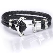 anchor bracelet charms images Unisex anchor bracelet club factory jpg