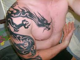 121 best men chest tattoos collection images on pinterest