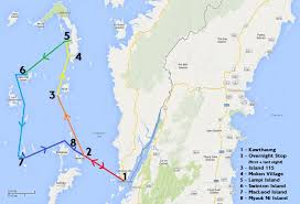 Map Burma Scott U0027s Travel Blog 2014 03 13 U2013 Myanmar Sailing Map