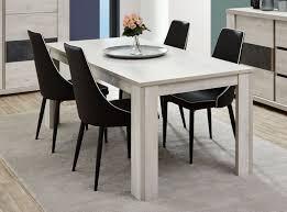 soldes chaises salle a manger table de salle à manger extensible contemporaine coloris chêne