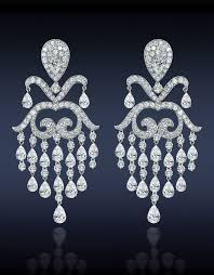 diamond chandelier 74 best diamond chandelier earring perpetual elegance images