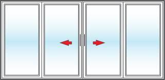 Patio Doors San Diego Vinyl Replacement 4 Panel Patio Doors In San Diego Bm Windows