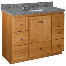 42 Bathroom Vanity Cabinet by Simplicity By Strasser Ultraline 42 In W X 21 In D X 34 5 In H