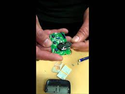 Miller Overhead Door by Garage Door Remote How To Change The Batteries Youtube