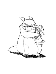 totoro loves you link by karookachoo on deviantart