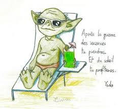 yoda in holidays by rea drawingzone on deviantart
