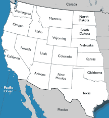map us states bordering canada western united states map reading worksheet