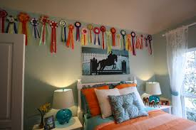this horse themed room was from a model home children and kid u0027s