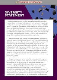 Statement Of Purpose Essay Sample Good Diversity Statement Sample