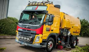 the volvo commercial volvo sweeps up at wj north commercial motor