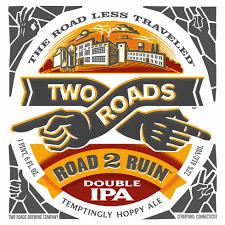 Two Roads Road 2 Ruin Double IPA | BeerPulse