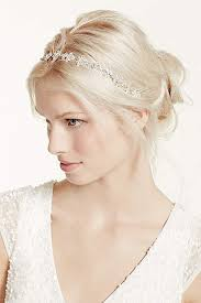 bridal headband bridal wedding headbands david s bridal