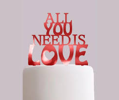 all you need is cake topper all you need is wedding cake toppers choose your colour