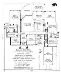 3 Bedroom Floor Plans With Garage 78 Best House Plans Images On Pinterest House Floor Plans Dream