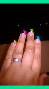 colored acrylic nail tips katty nails katty nails