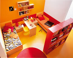 red and yellow bedroom education photography com