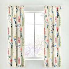 Floral Lined Curtains Floral Bazaar Raspberry Curtains At Bedeck 1951