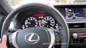 lexus es 350 sport mode 11 8 11 2013 lexus gs f sport acceleration youtube