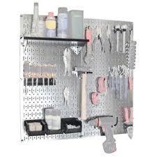 pegboard storage containers slatwall panels u0026 pegboards you u0027ll love wayfair