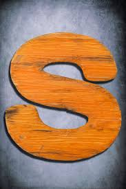 wooden letter large distressed painted shabby chic salvaged