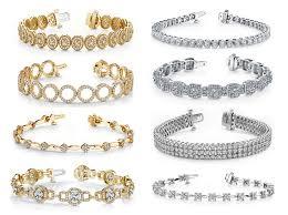 link bracelet with diamonds images Wedding day gift idea stylish diamond bracelets jpg