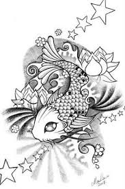 cute small koi fish tattoo graphic design tattooshunter com