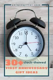 anniversary clock gifts 30 clock 1st anniversary gifts modern anniversary gift ideas