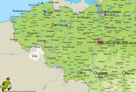 Map Of Germany And France Download Belgium France Map Major Tourist Attractions Maps